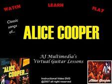 Custom Guitar Lessons - Learn Alice Cooper Dvd Video