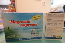 MAGNESIO SUPREMO 32 BUSTE contro stanchezza e stress funzionamento sist nervoso