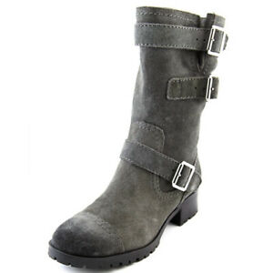 marc fisher gray suede ariana boots size 9