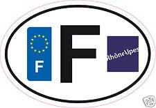 Autocollant sticker département 74 Rhône Alpes