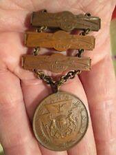 Span Am Period Pennsylvania Natioanl Guard Marksman Ladder Badge ~ 1900-01-02