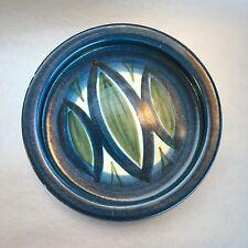 "7"" Danish Vintage Knabstrup Pottery Denmark Gunter Praschak Shallow Trinket Bowl"