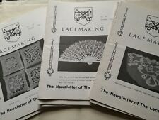 Lacemaking The Newsletter of The Lace Society Nos. 75 – 114