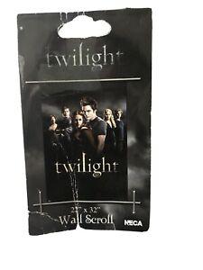 "TWILIGHT Saga NECA Bella & the Cullens  WALL SCROLL 22""X 32"" NEW WITH TAG"