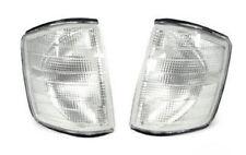 New DEPO Euro Clear Corner Lights Pair 1984-1993 Mercedes Benz W201 190E 190D