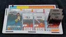 6 x Custom Acrylic Dashboards for Zombicide Season 1, 2 & 3