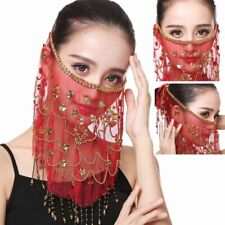 Belly Dancer Embroidery Face Veil Costumes Dancing Face Veil Accessories Wear