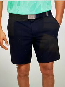 Under Armour UA Golf Iso-Chill Men's Shorts Stretch BLACK -38- 1358785 $75