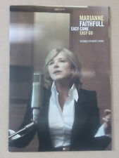 MARIANNE FAITHFULL Easy Come Easy Go 2008 European promotional only press pack