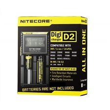 Nitecore Digi D2 Universal Smart Charger IMR, LiIoN, Ni-MH 18350 18650 26650 Etc