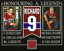 MAURICE RICHARD HONOURING A LEGEND PHOTO RED FORUM SEAT