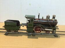 Live Steam Tender Locomotive Oscillating - Bing - Gauge 1