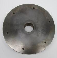 "Oliver Wood Lathe 7 1/2"" Cast Iron Face Plate 1 3/8"" x 8 Tpi (100647)"
