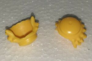112035 Pelo amarillo claro 2u Playmobil*