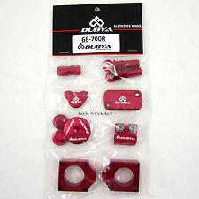 Dubya Bling Kit Honda Red CRF250R CRF 250 CR250F R 09 10 11 12 13 14 15 NEW