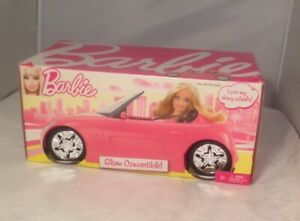 Barbie Convertible Car Barbie Glam Auto R4205 Pink 2010 MNIB sealed old stock