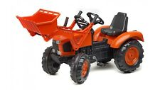 "Kubota M135GX Pedal Tractor with Front Loader & ""Quiet Tyres"" - FA2062D"