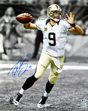 DREW BREES AUTOGRAPHED SIGNED 16X20 PHOTO SAINTS SPOTLIGHT BECKETT 135087