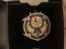 Mens Diesel Silicon Watch With Yellow Dial 52MM