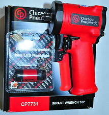 """Chicago Pneumatic CP7731 3/8"""" stubby impact Wrench 4.4"""" long 2.8 Lb 415 Ft-lbs"""