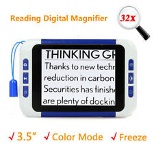 "3.5""Screen Video Digital Low Vision Magnifier Electronic Reading Eyesight-Aiding"