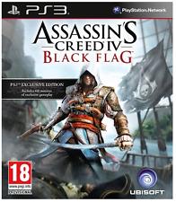 PS3-Assassins Creed IV (4) black flag ** Nuovo e Sigillato ** UFFICIALE STOCK Regno Unito