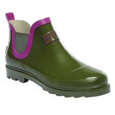 Botas de mujer de color principal verde de goma