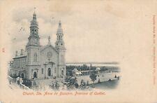 STE. ANNE DE BEAUPRE QC – Church – udb - 1904