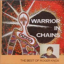 """ROGER KNOX New CD """"WARRIOR IN CHAINS - The Best of Roger Knox"""" 14 Tracks"""