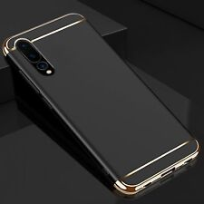 3 in 1 Huawei P20 Pro Shockproof Hard Slim in Black