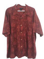 Polo Jeans Company Ralph Lauren XL Red Hawaiian Shirt XLNT Men's