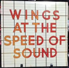 WINGS At The Speed of Sound Album Released 1982 Vinyl/Record  Collection USA