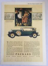 Antiq 1927 Packard Car Paper Print Advertisement Ad Luxury Automobile Auto 3608