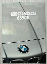 BMW 628, 633 & 635 CSi Car Sales Brochure Feb 1980 #011060265 DUTCH TEXT