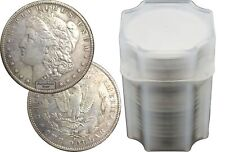 Rollo de 20 aleatorio año 1878-1904 $1 Morgan plata dólares vf a XF