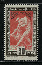 FRANCE SCOTT #200 1924 30 CENTIME OLYMPIC GAMES ISSUE MH F-VF!
