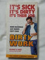 Dirty Work (VHS 1998) RARE SCREENER COPY OOP DEMO COPY HTF