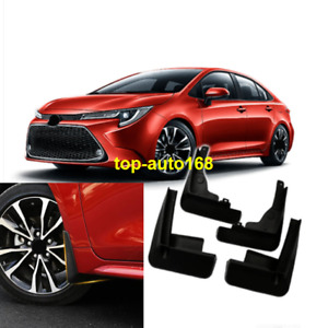 For 2020 NEW Toyota Corolla Black plastic Mud Flap Flaps Splash Guards Mudguards