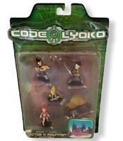 CODE LYOKO Sector 4 Mountain 11 Plague Action figures Marvel 2006 Vtg Retro (19