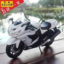 Maisto 1:12 King of Speed Kawasaki Zx-14R 2006 Alloy Abs Motorcycle Model Toys