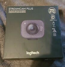 BRAND NEW Logitech StreamCam Plus Webcam Graphite 960-001280 FAST /FREE SHIP!!