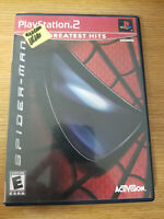 Spider-Man Greatest Hits (Sony PlayStation 2, 2002) Complete