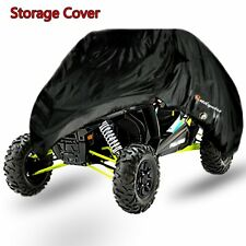 Black Weatherproof Storage Cover For Polaris RZR XP 900 1000 Models