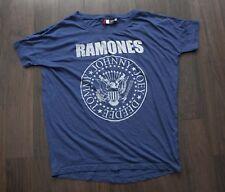 *+* Ramones T Shirt H&M Divided  Size Oversize XS *C0820