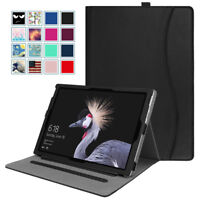 For Microsoft Surface Pro 6 2018 /Pro 5 4 3 12.3 inch Tablet Case w/ Card Pocket