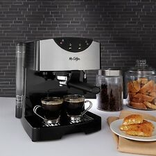 Automatic Espresso Machines Cafe Barista Maker With Milk Frother Tool Mr Coffee