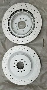 NOS 2005-2008 Cadillac CTS, STS OEM Rear Rotor 88964608     219890715