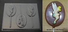 TINKERBELL Fairy on OVAL Lollipop Chocolate Candy Soap Mold
