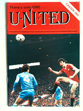 Easter 1982 Manchester United Newsletter