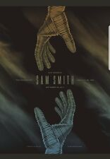 Sam Smith DKNG Seattle Concert Poster The Paramount Gig Print Artist Proof